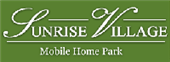 Sunrise Village Mobile Home Park logo